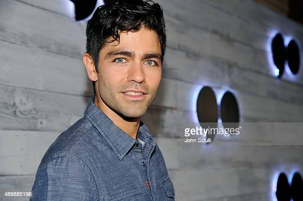Actor Adrian Grenier attends the VIP sneak peek of the go90 Social Entertainment Platform at the Wallis Annenberg Center for the Performing Arts on...