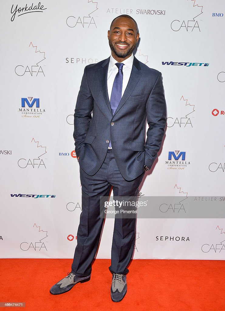 Actor Adrian Holmes arrives at the 1st Annual Canadian Arts and Fashion Awards at the Fairmont Royal York Hotel on February 1, 2014 in Toronto, Canada.