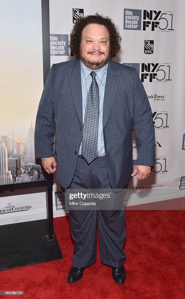 Actor Adrian Martinez attends the Centerpiece Gala Presentation Of 'The Secret Life Of Walter Mitty' during the 51st New York Film Festival at Alice Tully Hall at Lincoln Center on October 5, 2013 in New York City.