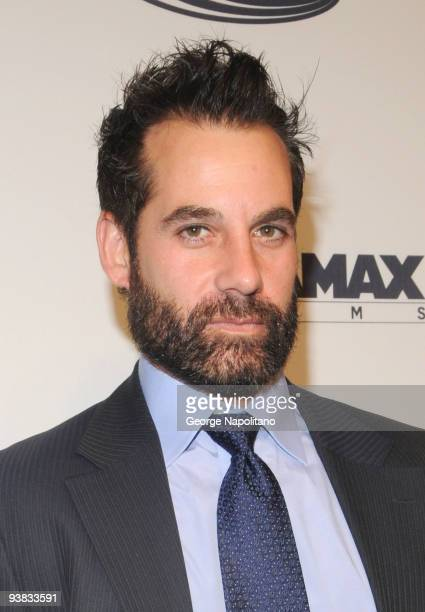 Actor Adrian Pasdar attends Tribeca Film Institute's benefit screening of 'Everybody's Fine' at AMC Lincoln Square on December 3 2009 in New York City