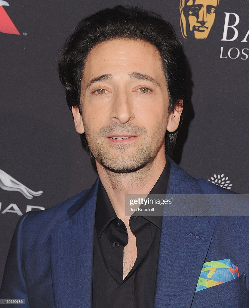Actor <a gi-track='captionPersonalityLinkClicked' href=/galleries/search?phrase=Adrien+Brody&family=editorial&specificpeople=202175 ng-click='$event.stopPropagation()'>Adrien Brody</a> arrives at the 2015 BAFTA Tea Party at The Four Seasons Hotel on January 10, 2015 in Beverly Hills, California.