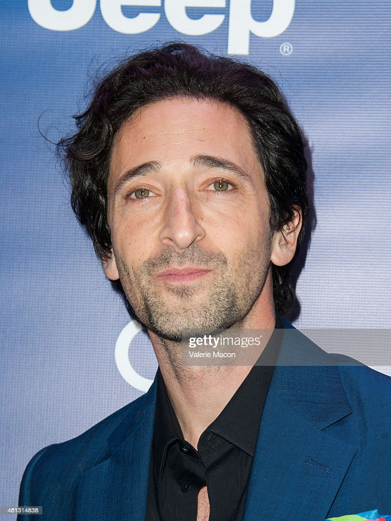 Actor <a gi-track='captionPersonalityLinkClicked' href=/galleries/search?phrase=Adrien+Brody&family=editorial&specificpeople=202175 ng-click='$event.stopPropagation()'>Adrien Brody</a> arrives at the 4th Annual Sean Penn & Friends HELP HAITI HOME Gala Benefiting J/P Haitian Relief Organization at Montage Hotel on January 10, 2015 in Los Angeles, California.