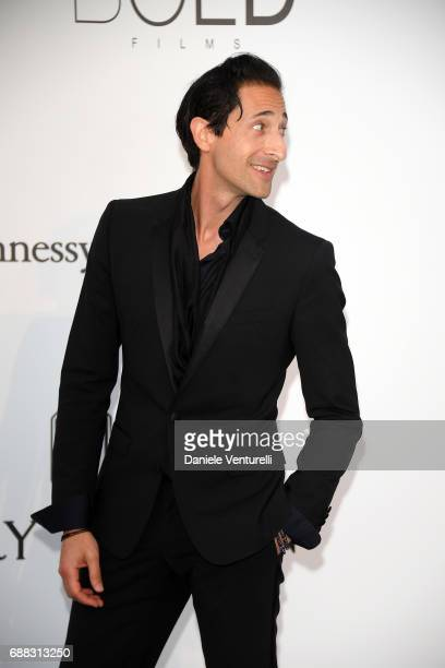 Actor Adrien Brody arrives at the amfAR Gala Cannes 2017 at Hotel du CapEdenRoc on May 25 2017 in Cap d'Antibes France