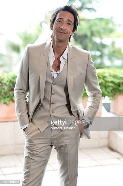 Actor Adrien Brody attends a photocall to announce his new film 'Emperor' during the 67th Annual Cannes Film Festival on May 19 2014 in Cannes France