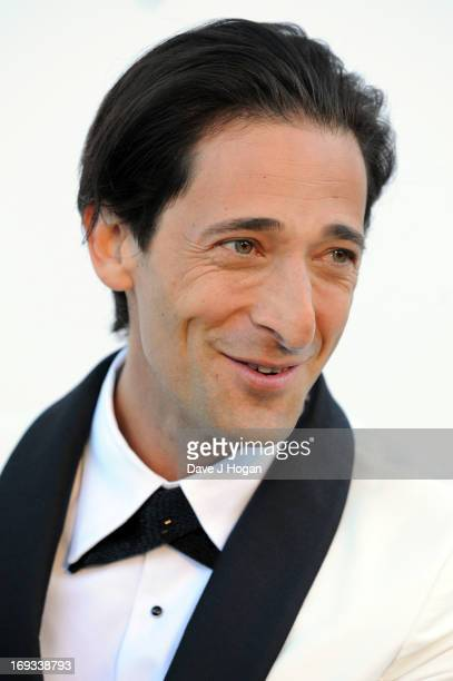 Actor Adrien Brody attends amfAR's 20th Annual Cinema Against AIDS during The 66th Annual Cannes Film Festival at Hotel du CapEdenRoc on May 23 2013...