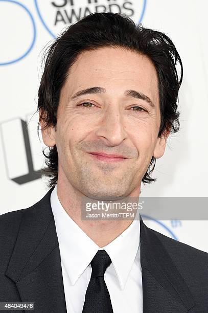 Actor Adrien Brody attends the 2015 Film Independent Spirit Awards at Santa Monica Beach on February 21 2015 in Santa Monica California