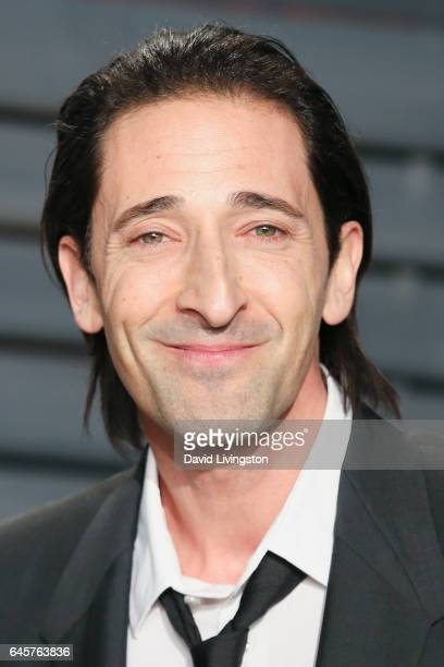 Actor Adrien Brody attends the 2017 Vanity Fair Oscar Party hosted by Graydon Carter at the Wallis Annenberg Center for the Performing Arts on...