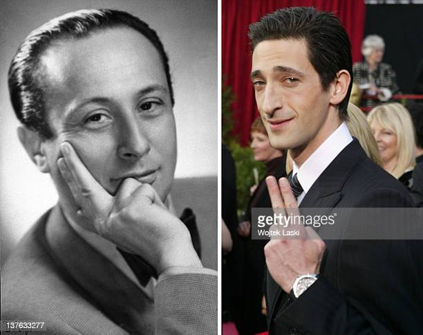 In this composite image a comparison has been made between Wladislaw Szpilman and actor Adrien Brody Oscar hype continues this week with the...