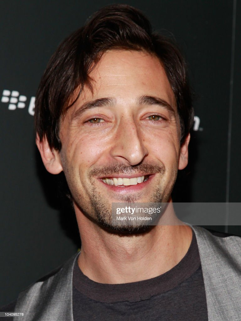 Actor Adrien Brody attends the Cinema Society and BlackBerry Torch screening of 'You Will Meet a Tall Dark Stranger' at MOMA on September 14, 2010 in New York City.