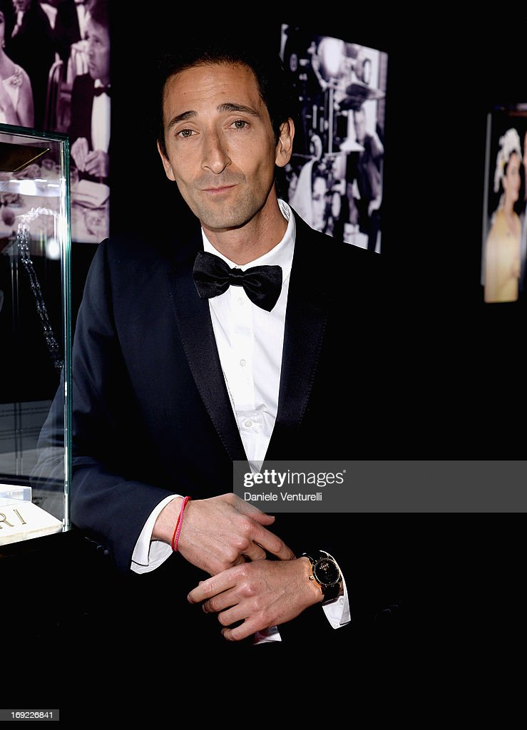 Actor <a gi-track='captionPersonalityLinkClicked' href=/galleries/search?phrase=Adrien+Brody&family=editorial&specificpeople=202175 ng-click='$event.stopPropagation()'>Adrien Brody</a> attends the 'Cleopatra' cocktail hosted by Bulgari during The 66th Annual Cannes Film Festival at JW Marriott on May 21, 2013 in Cannes, France.