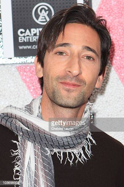 Actor Adrien Brody attends the GBK Gift Lounge in Honor of the 2010 Emmy Nominees and Presenters at SLS Hotel on August 28 2010 in Beverly Hills...