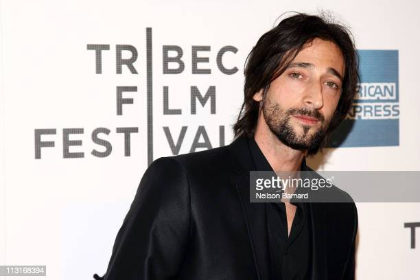 Actor Adrien Brody attends the premiere of 'Detachment' during the 2011 Tribeca Film Festival at BMCC Tribeca PAC on April 25 2011 in New York City