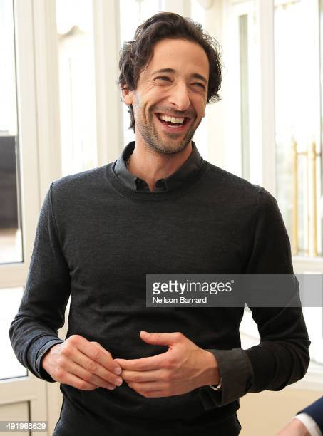 Actor Adrien Brody attends the Stella Artois and Glacier Films Event during the 67th Annual Cannes Film Festival at the Carlton Hotel on May 18 2014...