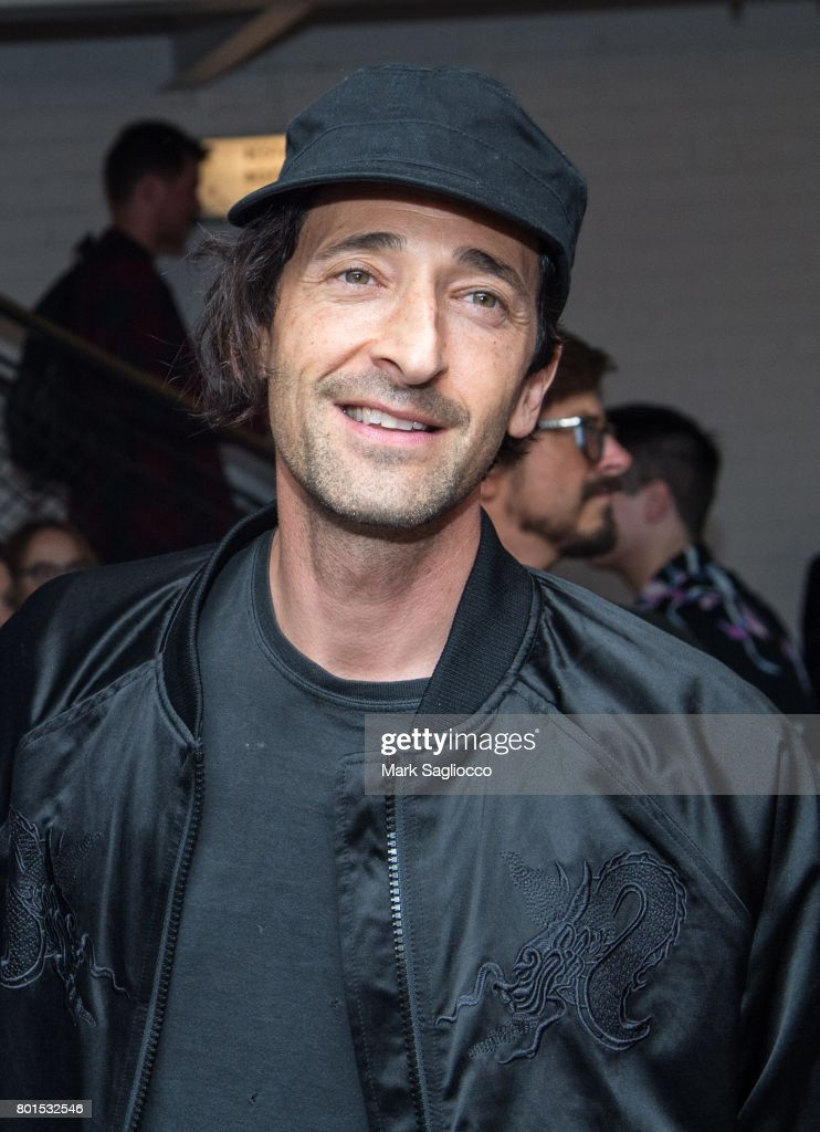 Actor Adrien Brody attends TriStar Pictures, The Cinema Society and Avion's screening of 'Baby Driver' at The Metrograph on June 26, 2017 in New York City.