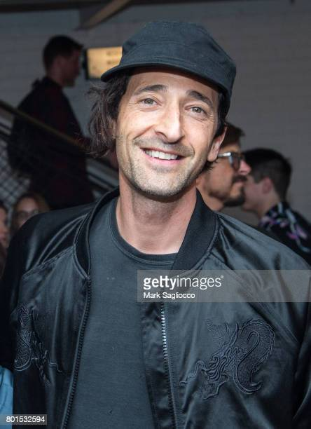 Actor Adrien Brody attends TriStar Pictures The Cinema Society and Avion's screening of 'Baby Driver' at The Metrograph on June 26 2017 in New York...