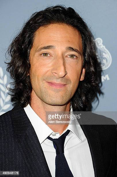 Actor Adrien Brody attends Variety's Night with the Stars during the San Diego Film Festival at Museum of Contemporary Art on October 1 2015 in La...