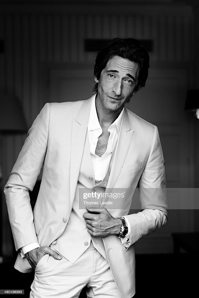 Actor <a gi-track='captionPersonalityLinkClicked' href=/galleries/search?phrase=Adrien+Brody&family=editorial&specificpeople=202175 ng-click='$event.stopPropagation()'>Adrien Brody</a> is photographed for Self Assignment on May 19, 2014 in Cannes, France.