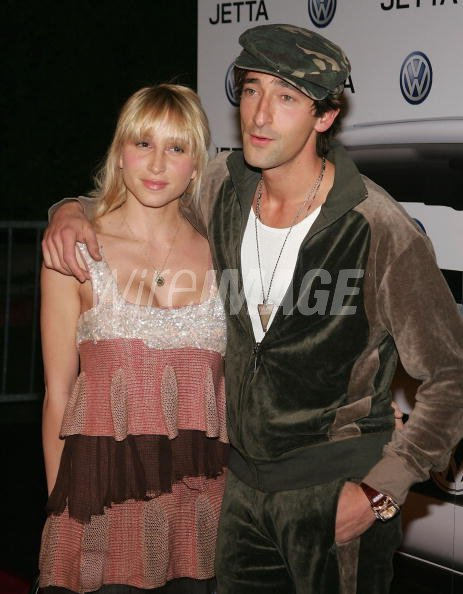 Actor Adrien Brody with girlfriend Michelle Dupont arrive ...