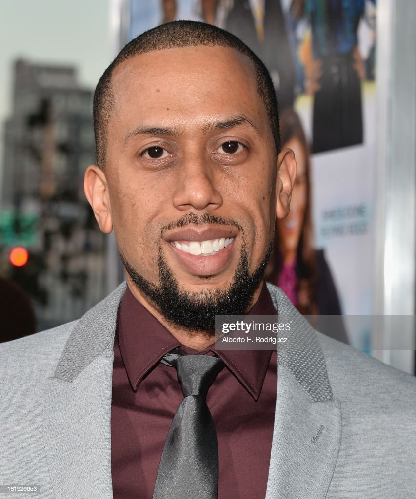 Actor Affion Crockett attends the premiere of Fox Searchlight Pictures' 'Baggage Claim' at Regal Cinemas L.A. Live on September 25, 2013 in Los Angeles, California.