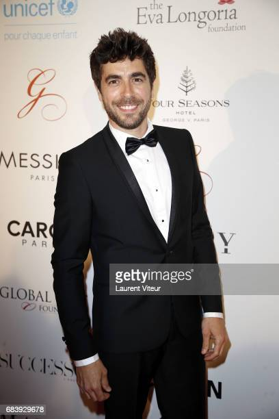 Actor Agustin Galiana attends 'Global Gift Gala 2017' at Hotel George V on May 16 2017 in Paris France