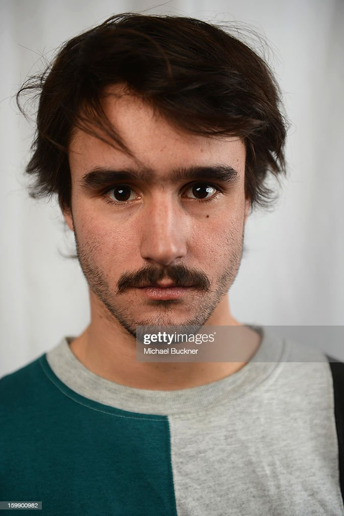 Actor Agustín Silva poses for a portrait at the Photo Studio for MSN Wonderwall at ChefDance on January 22, 2013 in Park City, Utah.