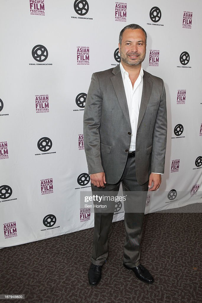 Actor <a gi-track='captionPersonalityLinkClicked' href=/galleries/search?phrase=Ahmed+Ahmed&family=editorial&specificpeople=2143773 ng-click='$event.stopPropagation()'>Ahmed Ahmed</a> attends the 2013 LA Asian Pacific Film Festival - opening night premiere of 'Linsanity' at the Directors Guild Of America on May 2, 2013 in Los Angeles, California.