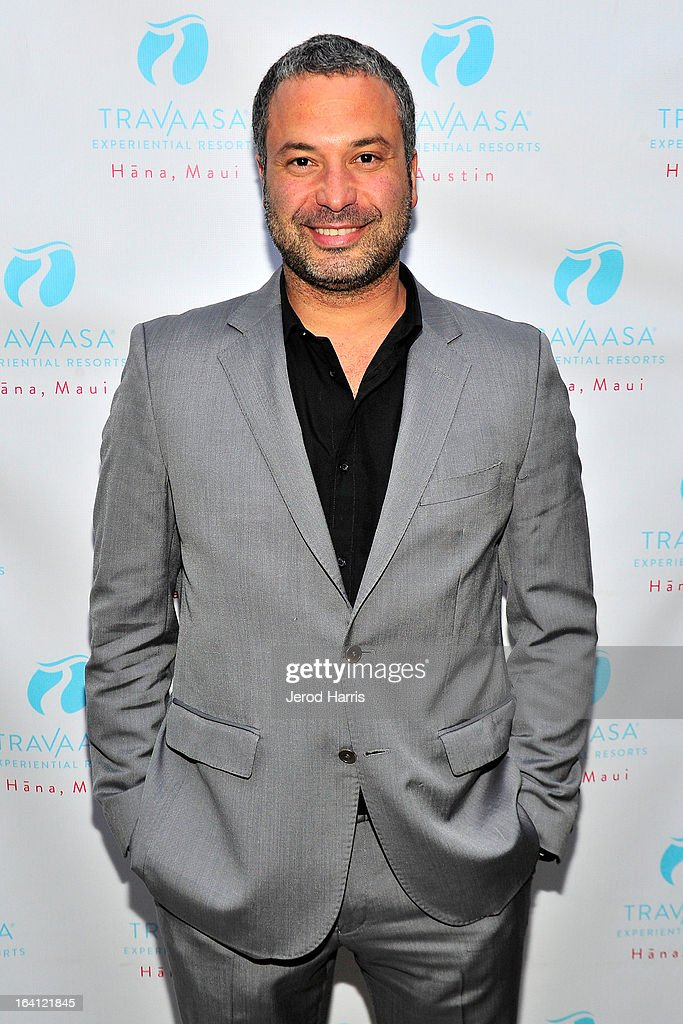 Actor Ahmed Ahmed attends Travaasa Resorts official LA experience event at Kinara Spa on March 19, 2013 in Los Angeles, California.