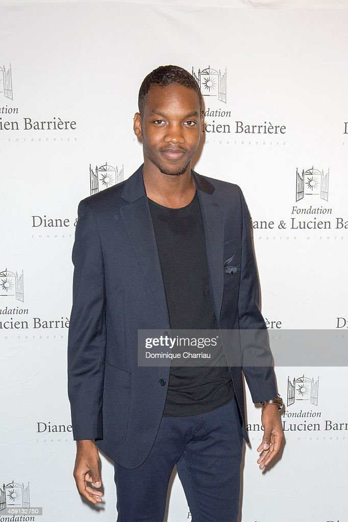 Actor Ahmed Drame attends 'Les Heritiers' Premiere Hosted by Fondation Diane & Lucien Barriere at Publicis Champs Elysees on November 17, 2014 in Paris, France.