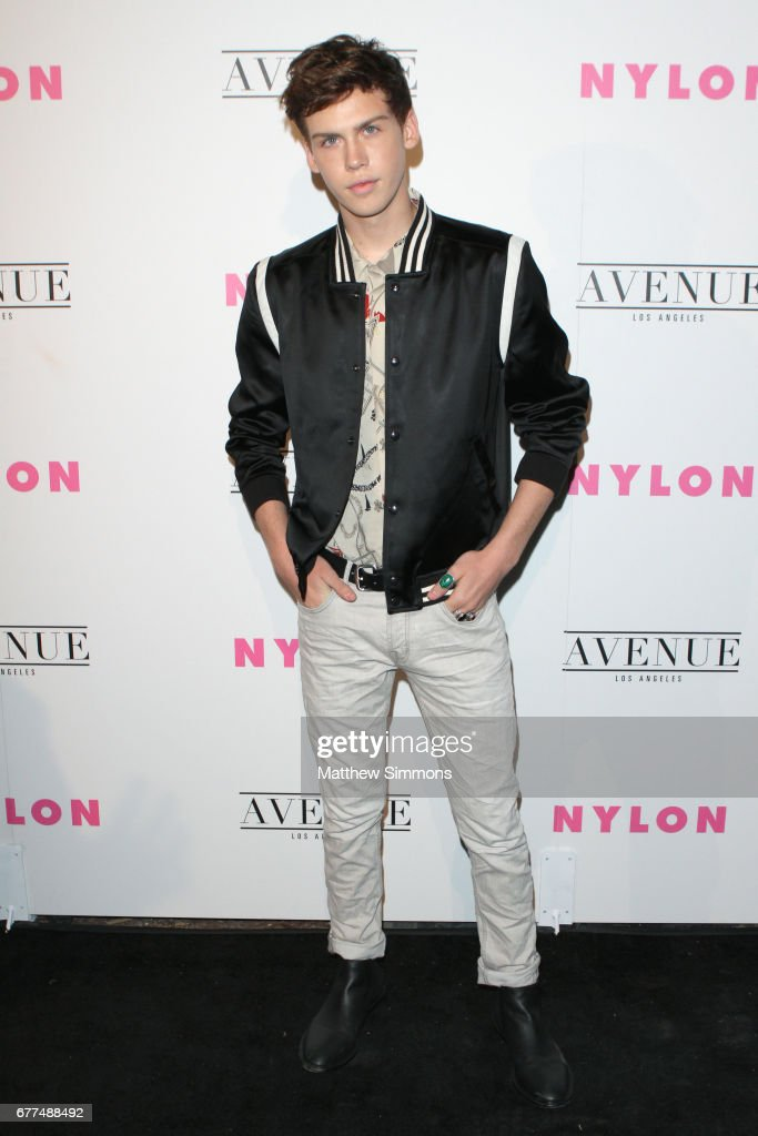 Actor Aidan Alexander attends NYLON's Annual Young Hollywood May Issue Event at Avenue on May 2, 2017 in Los Angeles, California.