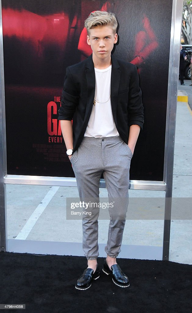 Actor Aidan Alexander attends the Premiere Of New Line Cinema's 'The Gallows' at Hollywood High School on July 7, 2015 in Los Angeles, California.