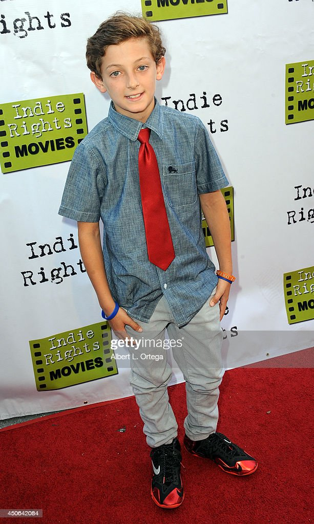 Actor Aidan Collins arrives for the Premiere Of 'The World Famous Kid Detective' held at The Arena Theater on June 14, 2014 in Hollywood, California.