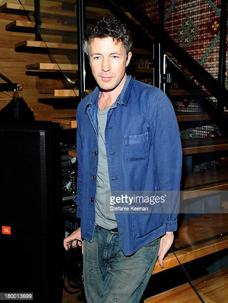 Actor Aidan Gillen at the Grey Goose vodka and Hudson's Bay Party for 'Can A Song Save Your Life' held at Patria on September 7 2013 in Toronto Canada