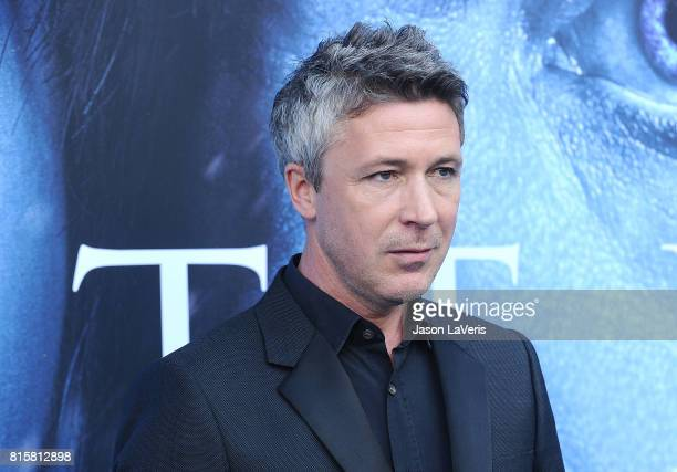 Actor Aidan Gillen attends the season 7 premiere of 'Game Of Thrones' at Walt Disney Concert Hall on July 12 2017 in Los Angeles California
