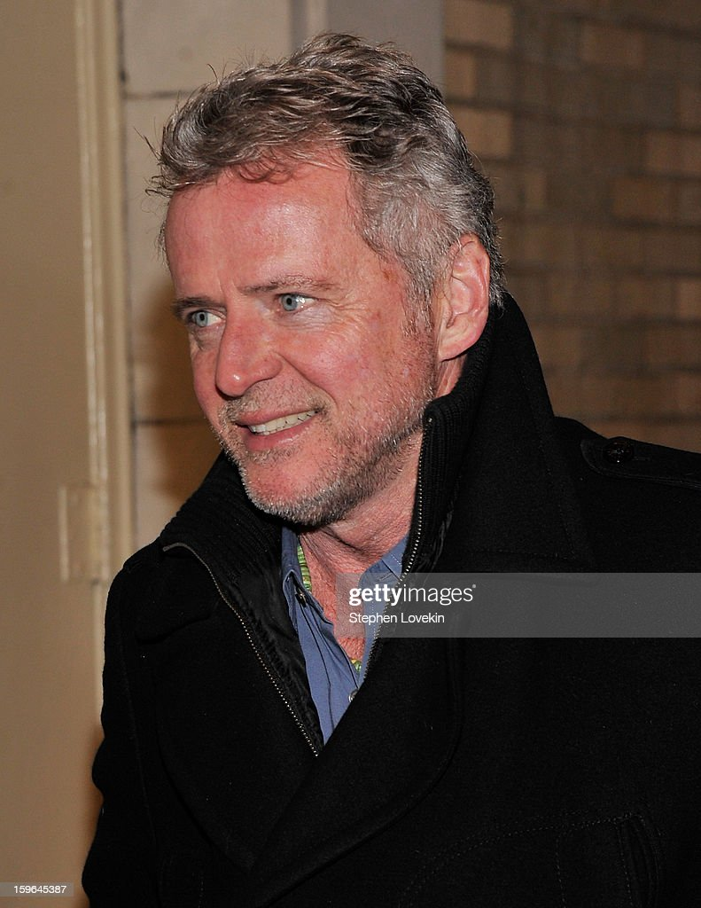 Actor Aidan Quinn attends the 'Cat On A Hot Tin Roof' Opening Night at Richard Rodgers Theatre on January 17, 2013 in New York City.
