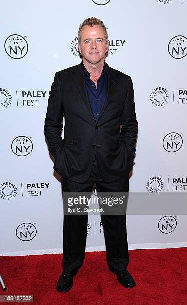Actor Aidan Quinn attends the 'Elementary' panel during 2013 PaleyFest Made In New York at The Paley Center for Media on October 5 2013 in New York...