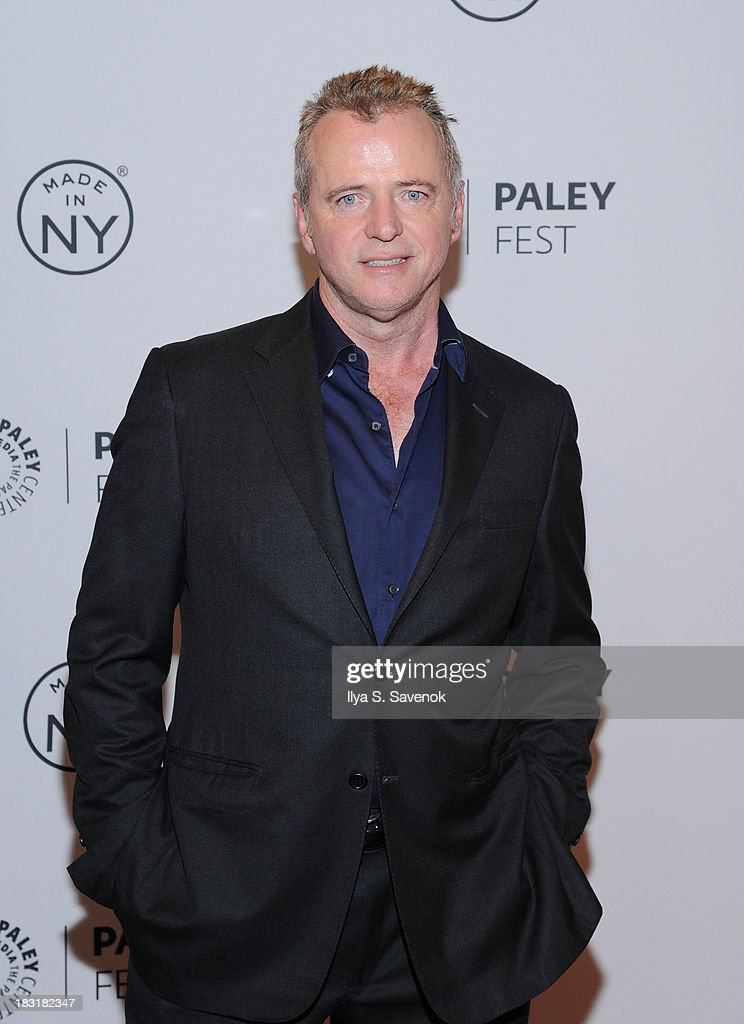 Actor <a gi-track='captionPersonalityLinkClicked' href=/galleries/search?phrase=Aidan+Quinn&family=editorial&specificpeople=171142 ng-click='$event.stopPropagation()'>Aidan Quinn</a> attends the 'Elementary' panel during 2013 PaleyFest: Made In New York at The Paley Center for Media on October 5, 2013 in New York City.