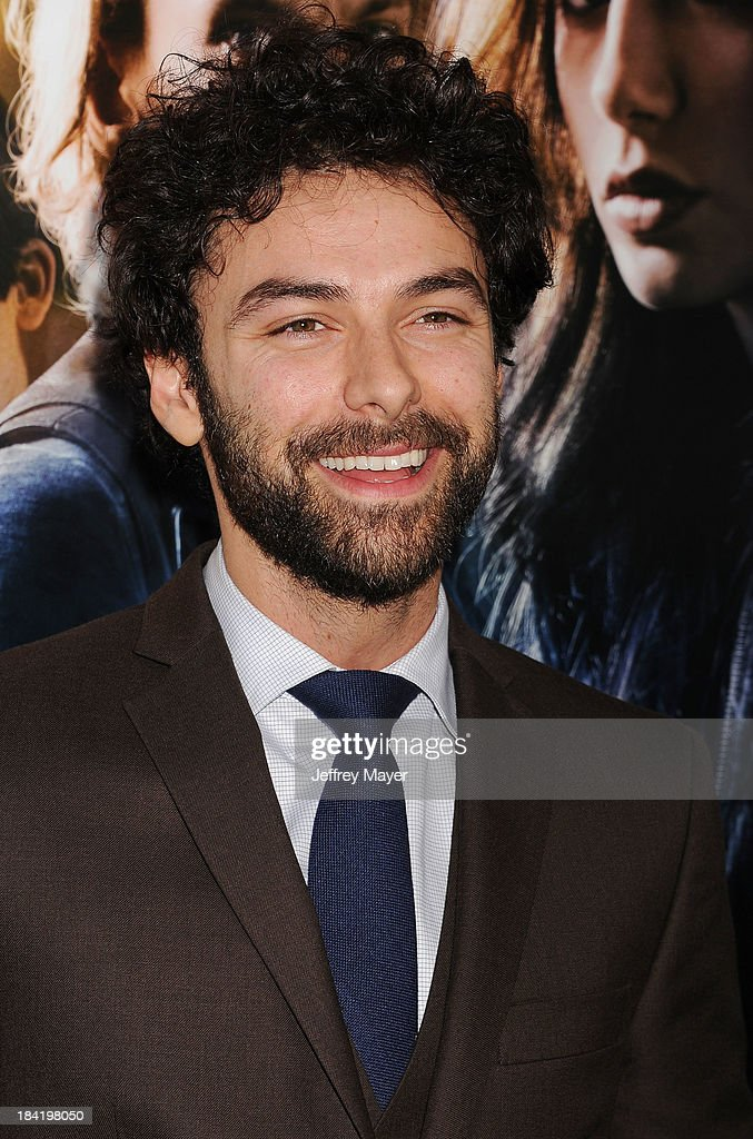 Actor Aidan Turner arrives at the Los Angeles premiere of 'The Mortal Instruments: City Of Bones' at ArcLight Cinemas Cinerama Dome on August 12, 2013 in Hollywood, California.