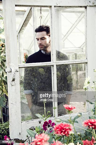 Actor Aidan Turner is photographed for Article magazine on September 15 2014 in Bristol England