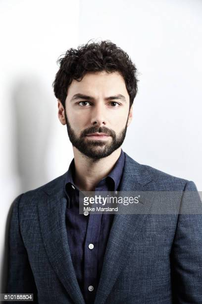 Actor Aidan Turner is photographed on June 9 2017 in London England