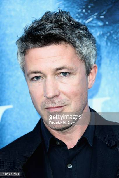 Actor Aiden Gillen attends the premiere of HBO's 'Game Of Thrones' season 7 at Walt Disney Concert Hall on July 12 2017 in Los Angeles California