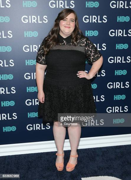 Actor Aidy Bryant attends The New York Premiere Of The Sixth Final Season Of 'Girls' at Alice Tully Hall Lincoln Center on February 2 2017 in New...