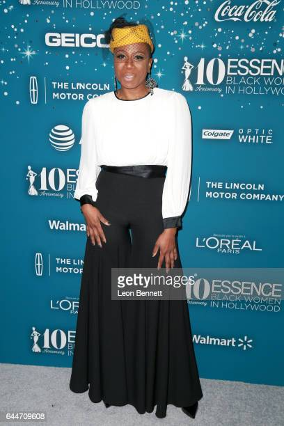 Actor Aisha Hinds at Essence Black Women in Hollywood Awards at the Beverly Wilshire Four Seasons Hotel on February 23 2017 in Beverly Hills...