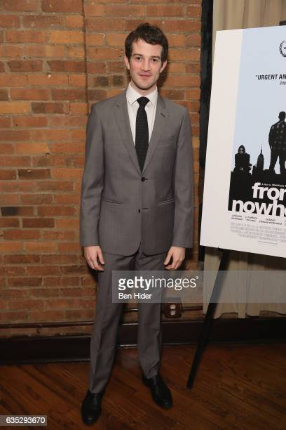 Actor AJ Shively attends the Special Screening Of FilmRise's 'From Nowhere' at Tribeca Screening Room on February 13 2017 in New York City
