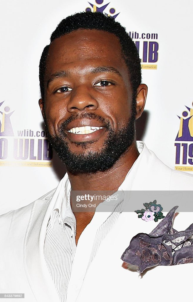 Actor Akron Watson attends as WBLS 107.5 and 1190 WLIB celebrate Black Music Month with Broadway's 'The Color Purple' on June 27, 2016 in New York City.