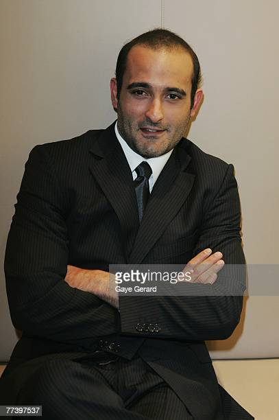 Actor Akshaye Khanna attends the Australian Indian Film Festival Gala Night at the Museum of Contemporary Art on October 18 2007 in Sydney Australia