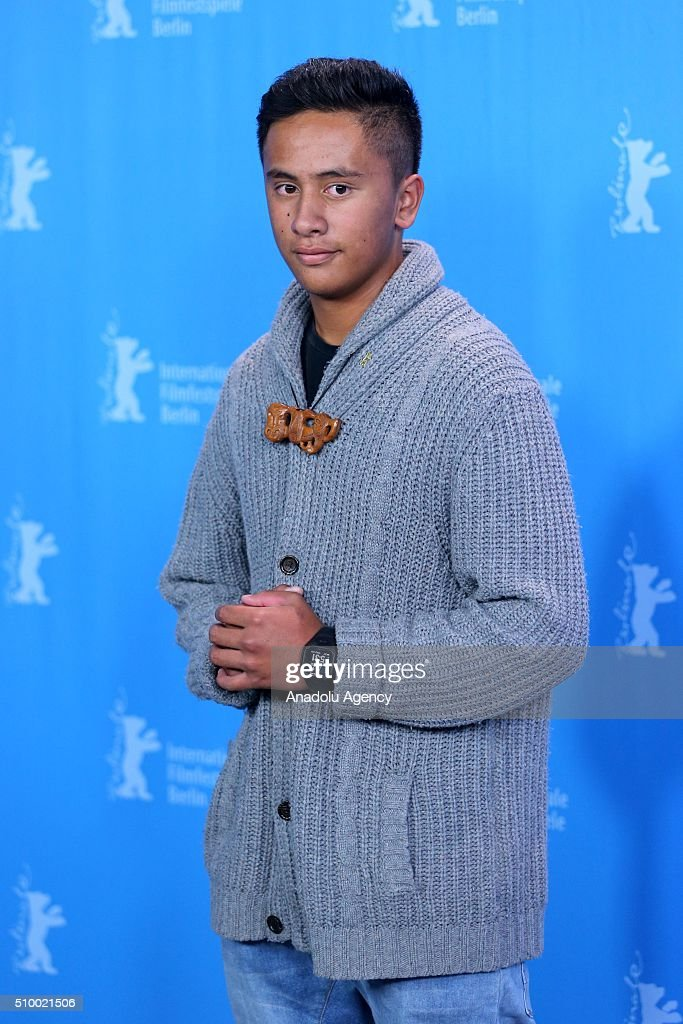 Actor Akuhata Keefe attends the 'The Patriarch' (Mahana) photo call during the 66th Berlinale International Film Festival Berlin at Grand Hyatt Hotel on February 13, 2016 in Berlin, Germany.