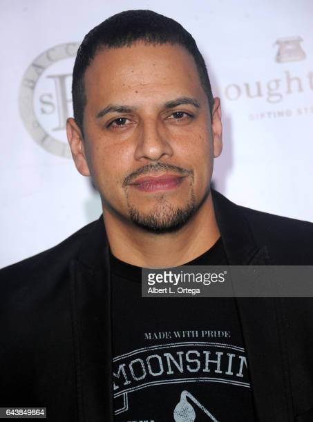 Actor Al Marchesie arrives for the Roman Media Inc's 3rd Annual Red Carpet And Fashion Show held at Boulevard3 on February 21 2017 in Hollywood...