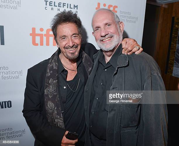 Actor Al Pacino and Director/Producer Brian de Palma attend the 3rd Annual TIFF Gala reception during the 2014 Toronto International Film Festival at...