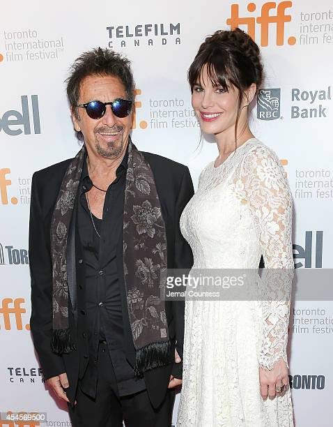 Actor Al Pacino and Lucila Sola attend the 3rd Annual TIFF Gala during the 2014 Toronto International Film Festival at TIFF Bell Lightbox on...
