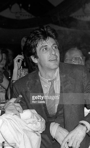 Actor Al Pacino attends The Actor's Studio Struttin Masked Ball on October 25 1978 at Roseland Ballroom in New York City